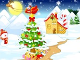 Decorate-the-christmas-village