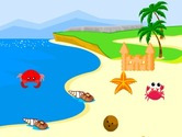 Decoration-game-at-the-beach