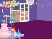 Decoration-game-for-a-birthday-party