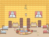 Decoration-game-in-a-dormitory-for-children