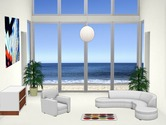 Decoration-game-in-an-apartment-in-the-seaside