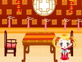 Decoration-game-in-an-asian-restaurant