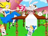 Decoration-game-with-alice-in-wonderland