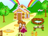 Decoration-game-with-hansel-and-gretel