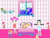 Decoration-game-with-sisters