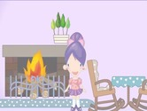 Decoration-game-with-violet-house