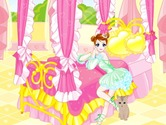 Decoration-in-the-game-room-of-a-young-girl