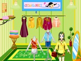 Game-development-in-a-clothing-shop