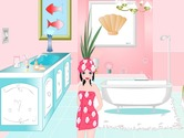 Game-development-in-a-pastel-pink-bathroom