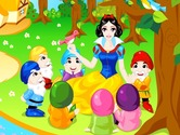Game-development-of-scenery-with-snow-white-and-the-seven-dwarfs