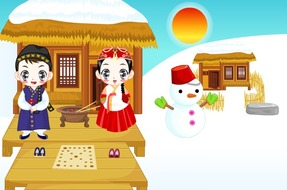 Decoration-game-to-the-mountain-with-a-couple