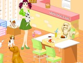 Game-development-in-dog-cafe